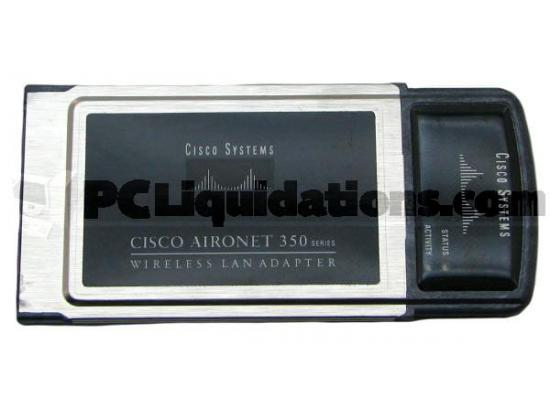Cisco AIR-PCM350 2.4Ghz PCMCIA Wireless LAN Module