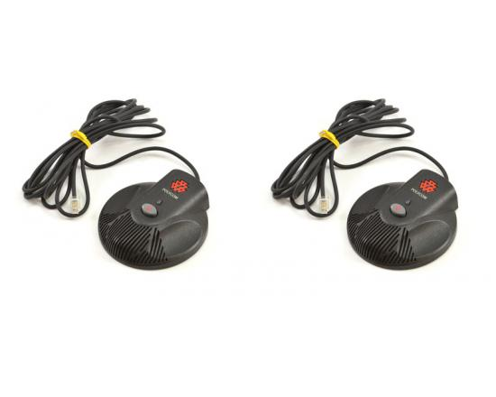 Polycom SoundStation 2W External Microphones - Set of 2 (2201-07840-001, 2200-07840-001)