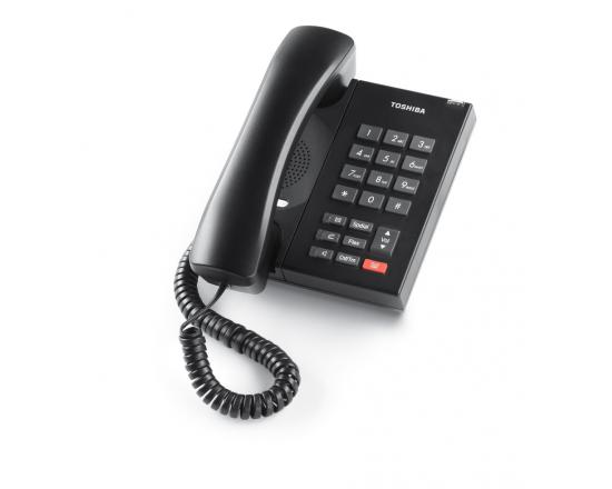 Toshiba Strata DP5008 Black Single Line Digital Telephone