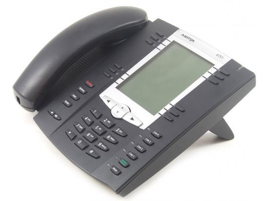 Aastra 6757i 12-Button Black IP Speakerphone - TEXT Keys - Grade B