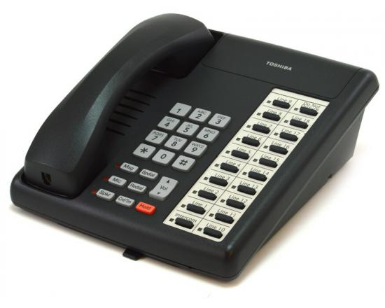 Toshiba Strata DKT3220-S 20-Button Charcoal Speakerphone