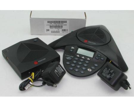 """Polycom SoundStation 2W 2.4GHz Wireless Conference Phone (2200-07880-001, 2201-67880-022) """"Grade B"""""""