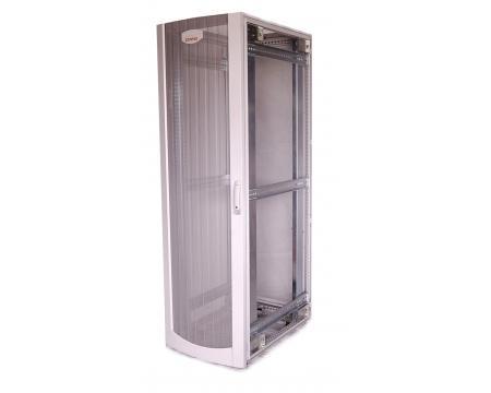 compaq series 42u server cabinet white one side panel