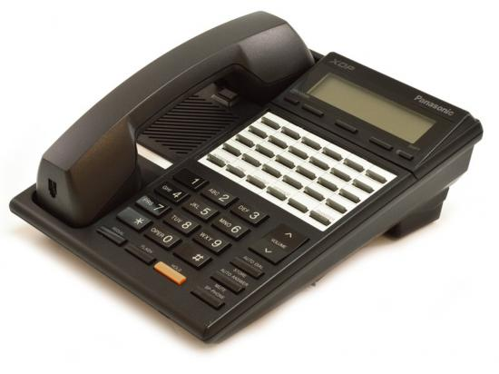 Panasonic Digital Super Hybrid KX-T7230 24-Button Black Display Speakerphone - Grade B