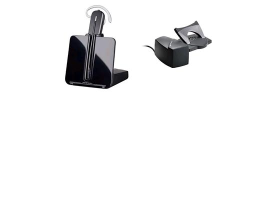 Plantronics CS540/HL10 Wireless DECT Headset Bundle (84693-11) - Grade A