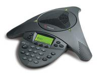 Polycom SoundStation VTX 1000 Conference Phone w/ Power Module (2200-07300-001, 2201-07142-001/601)