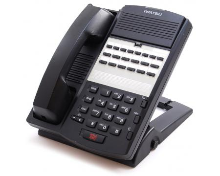 Iwatsu Omega-Phone ADIX IX-12KTS-3 Black Non-Display Speakerphone (104214)