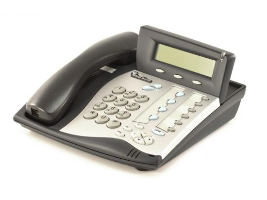 Tadiran Coral Flexset 121S Charcoal Display Phones - Silver Face