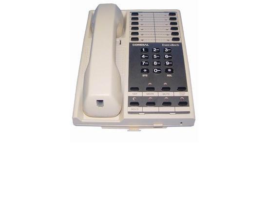 Comdial Executech II 6714S Pearl Grey 14-Button Non-Display Phone
