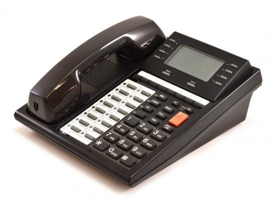 WIN MK-100D Exec Telephone 16 Button Display Black