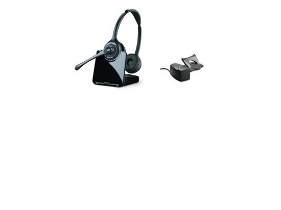 Plantronics CS520 Wireless Headset and HL10 Lifter Bundle