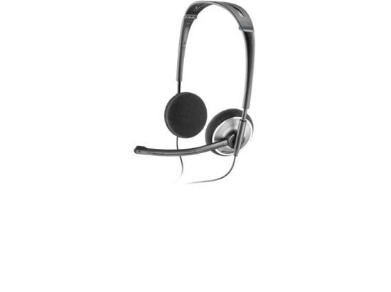 Plantronics Fold Flat USB Stereo Headset, SKYPE CERT