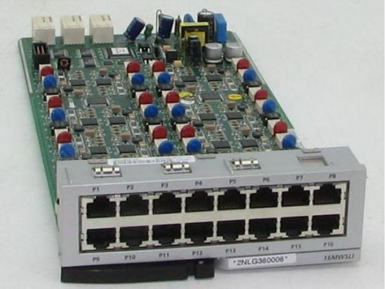 Samsung OfficeServ 16-Port Single Line Interface w/ Message Waiting