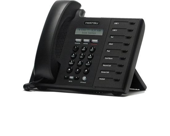 Iwatsu Icon IX-5800 Black Digital Telephone (505800)