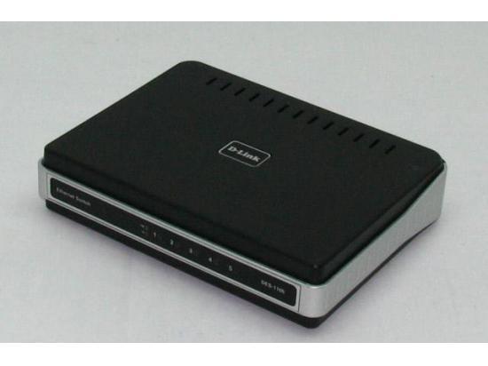 D-Link DES-1105 5-Port 10/100 Desktop Switch