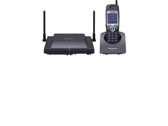 Panasonic KX-TD7896 Cordless Phone  - Black