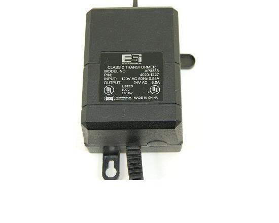 ESI IVX 24V AC 3-AMP Power Supply (AP3388)