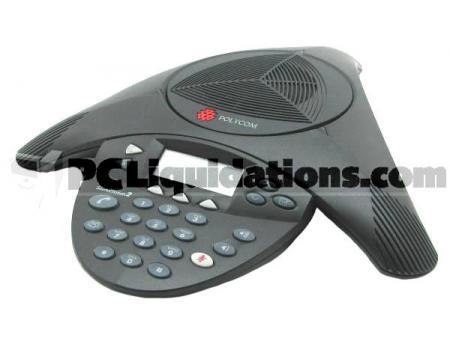 Polycom SoundStation 2 LCD Conference Phone (2201-16000-001, 2201-16000-601)