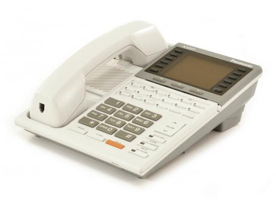 """Panasonic XDP KX-T7235 White Large Display Speakerphone """"Grade B"""""""