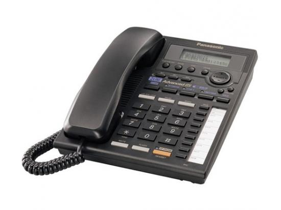 Panasonic KX-TS3282B 2-Line Expandable Phone w/ Data Port - Black