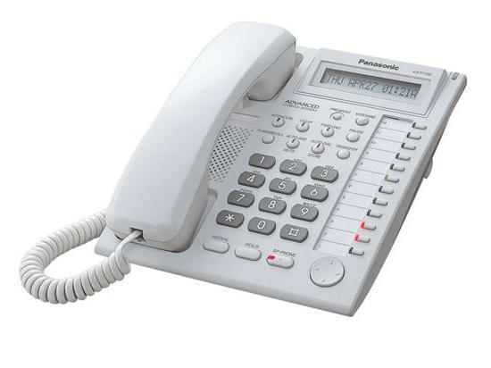 Panasonic KX-T7730 White LCD Speakerphone