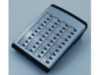 Tadiran Coral Flexset 40B 40 Button DSS/BL - Charcoal w/Silver Face (72440162700)