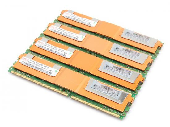 HP Kit of 4 Fully Buffered Dimm 1GB DDR2 2Rx8 PC5300F CL5 398706-051