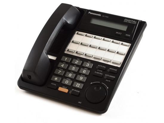 Panasonic Digital Super Hybrid KX-T7431-B Black Display Phone - Grade B