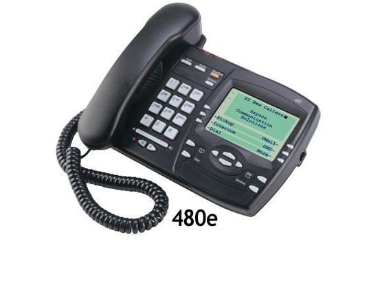 Aastra PT-480e Black IP Display Speakerphone - Grade A