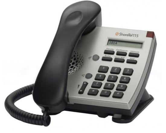 ShoreTel 115 Silver IP Phone