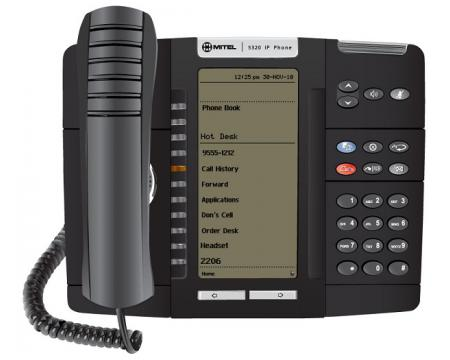 Mitel 5320 IP Dual Mode Large Display Phone (50006191)