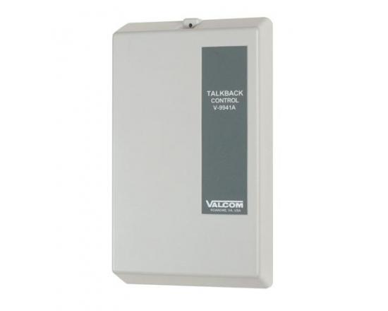Valcom V-9941A One-Zone Talkback Control Unit