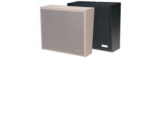VALCOM 1Watt 1Way Wall Speaker - Black