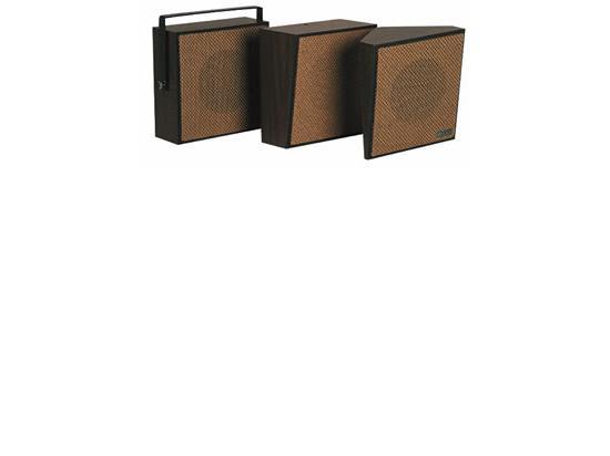 VALCOM 1Watt 1Way Wall Speaker - Brown