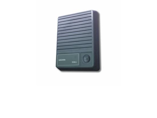 VALCOM Talkback Doorplate Surface Speaker- Gray