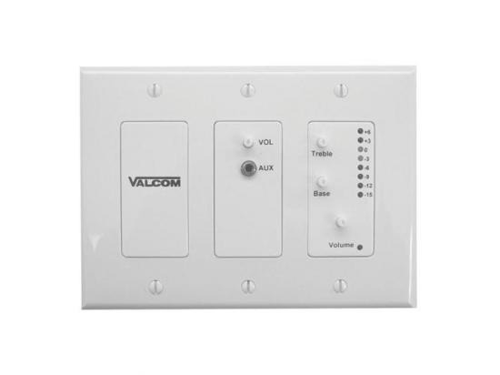 VALCOM In-wall audio mixer