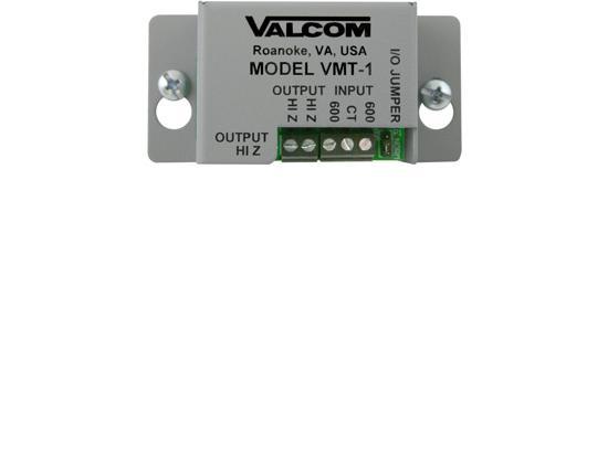 VALCOM Matching Transformer Line Inpu