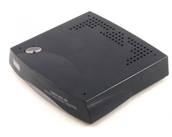 Cisco ATA186 2-Port Analog Telephone Adapter