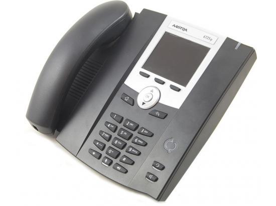 Aastra 6725ip Black Gigibit IP Color Display Speakerphone - Grade B