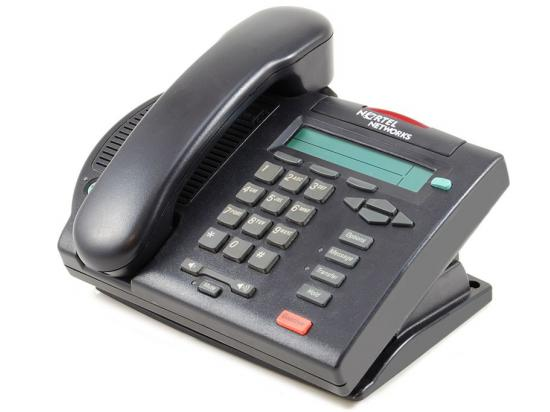 Nortel Meridian M3902 Charcoal Analog Display Phone - Grade A