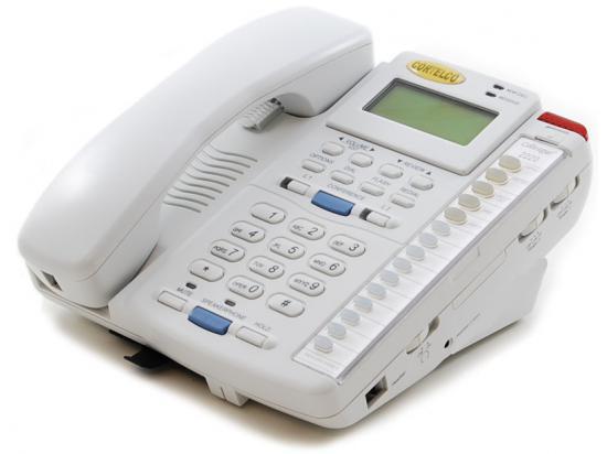 Cortelco Colleague 2220 White 2-Line Display Speakerphone (222021-TP2-27E)