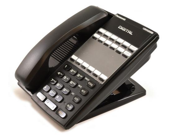 Panasonic DBS VB-44210-B 16-Button Phone Black