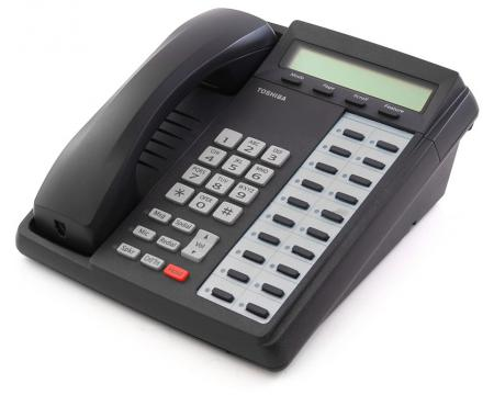Toshiba Strata DKT3020-SD 20-Button Charcoal Display Speakerphone