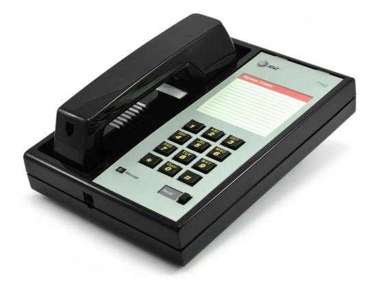 Avaya 7102 Black Analog Phone - Grade A