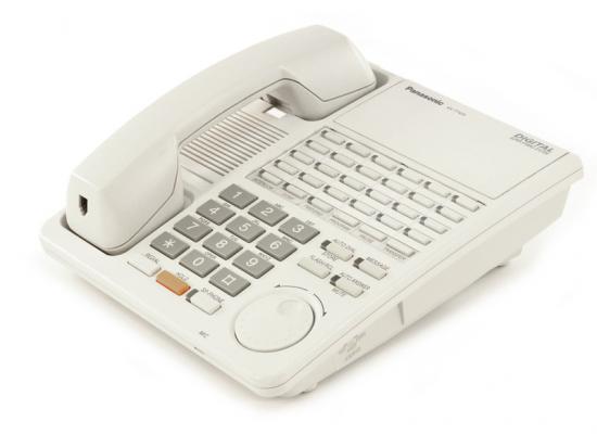 Panasonic Digital Super Hybrid KX-T7425 24-Button White Non-Display Speakerphone - Grade A