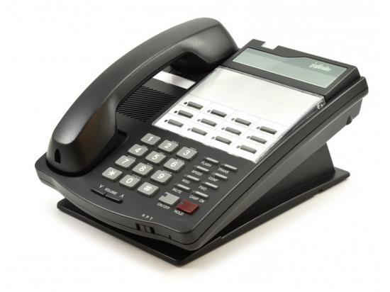 Vodavi Infinite DVX IN9012-71 12-Button Charcoal Digital Speakerphone - Grade A