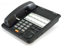 Panasonic E Series KX-T7420 12-Button Black Non-Display Speakerphone