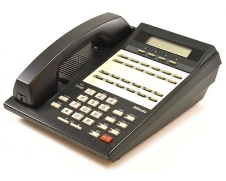 NEC 124i/384i 92753A 22-Button Black Digital Display Speakerphone - Grade A