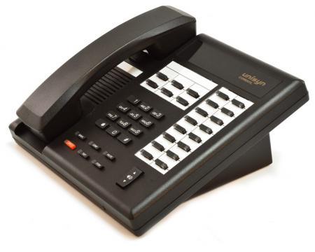 Comdial Unisyn 1122S-FB Flat Black  22-Button Non-Display Speakerphone