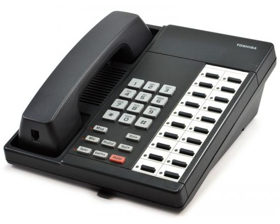 Toshiba Strata DKT2020-S 20-Button Charcoal Non-Display Speakerphone
